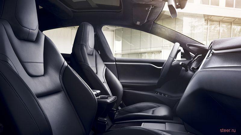 Официальные фото обновленной Tesla Model S