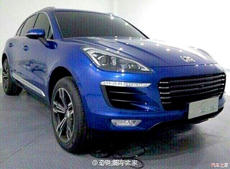 В Китае готовят к запуску копию Porsche Macan в три раза дешевле оригинала
