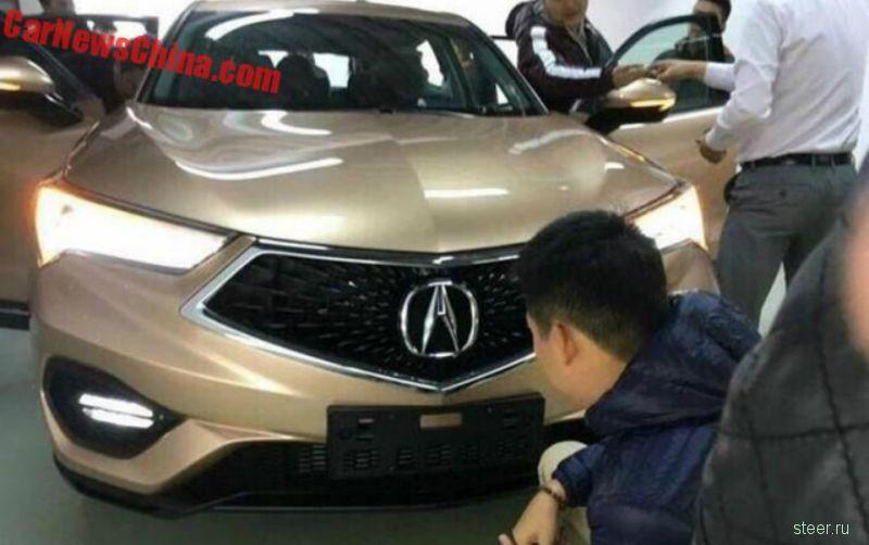Acura CDX : премиум-кроссовер на платформе Honda Civic