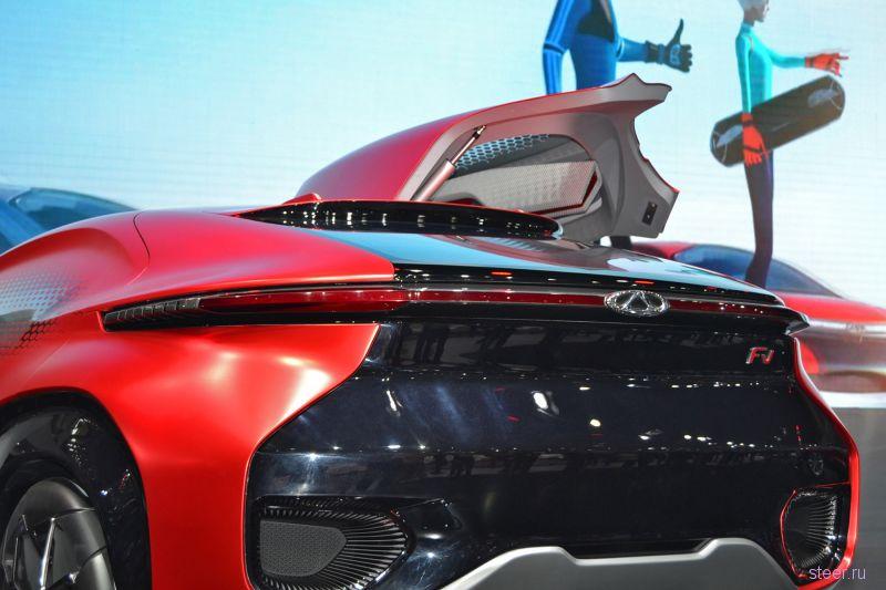 Китайский концепт-кар Chery FV2030 поразил всех