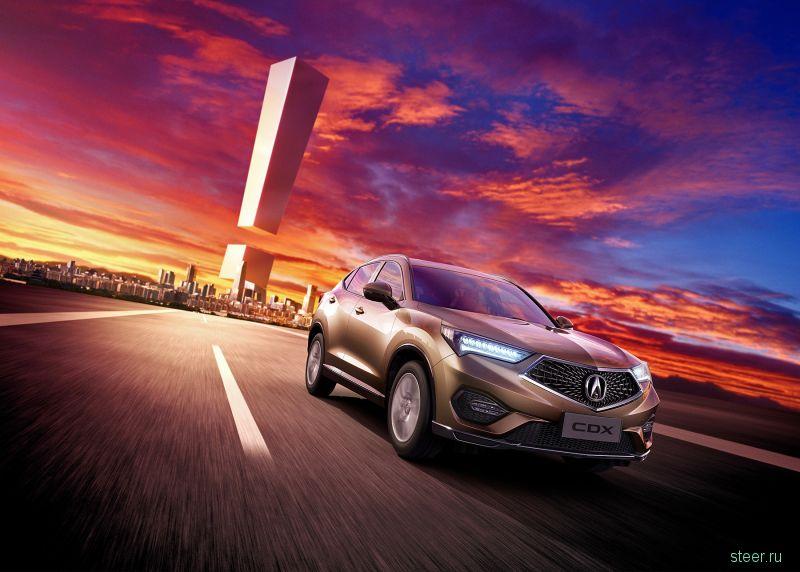 Acura представила кроссовер CDX