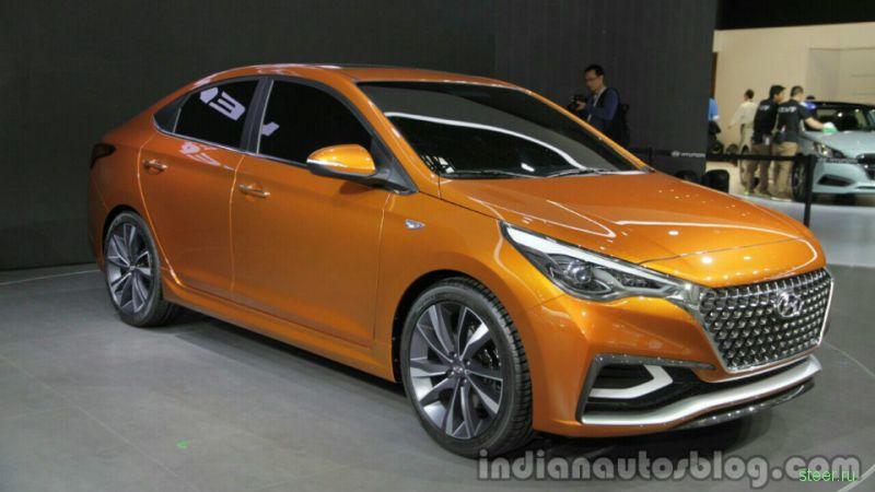 Hyundai показала новый «Солярис»