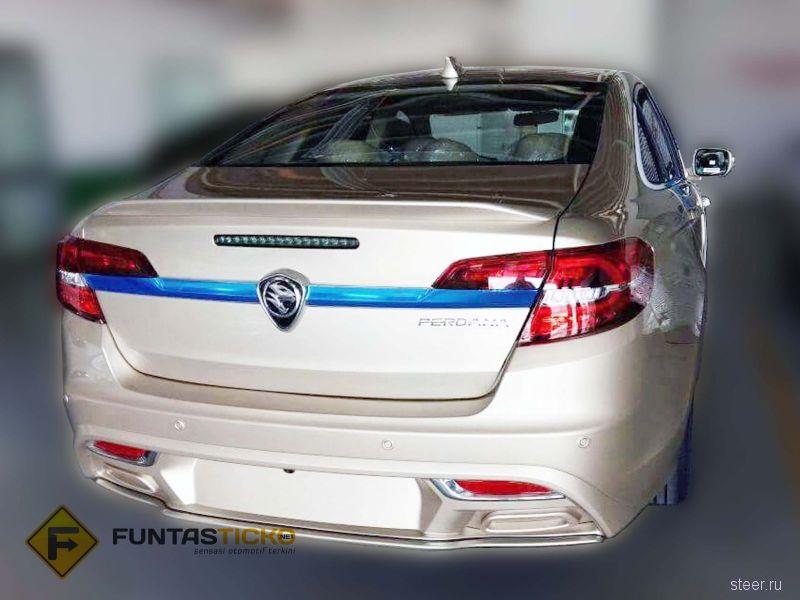 Perdana : малайзийский седан на базе старого Хонда Аккорд
