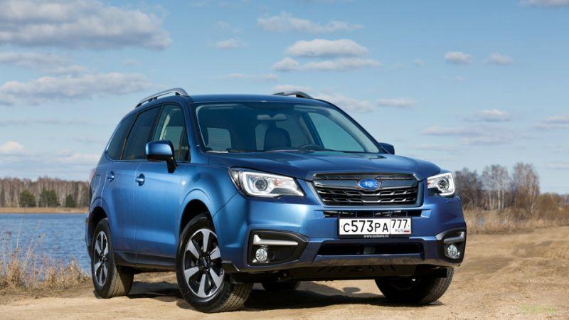 Subaru Forester обновился и подешевел