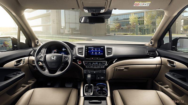 Новый Honda Pilot : от трех миллионов рублей