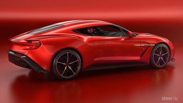 Анонсирован концепт Aston Martin Vanquish Zagato