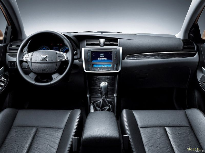 Седан Zotye Z300 обновили после вывода на российский рынок