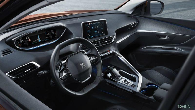Представлено новое поколение кроссовера Peugeot 3008