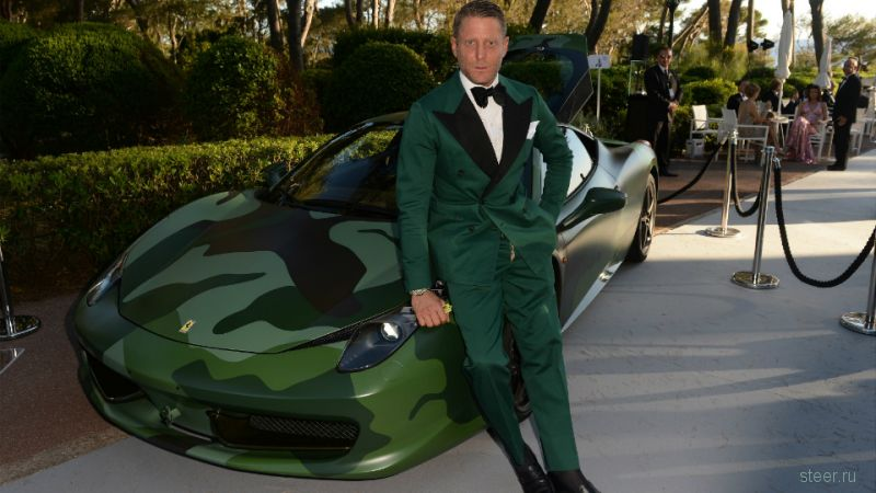 Камуфляжную Ferrari 458 Italia продали за 1,1 миллиона долларов