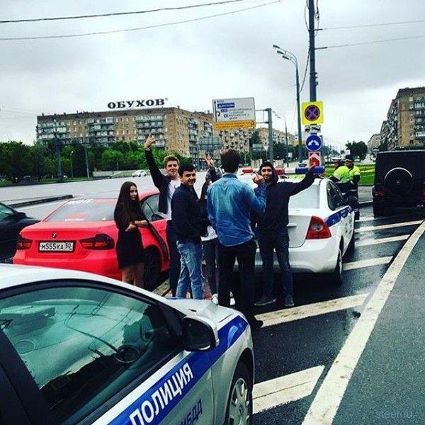 Золотая молодежь выложила в сеть издевательства над сотрудниками полиции