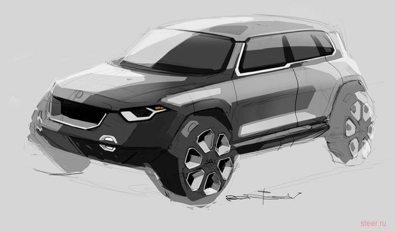 Volkswagen показал салон нового Amarok