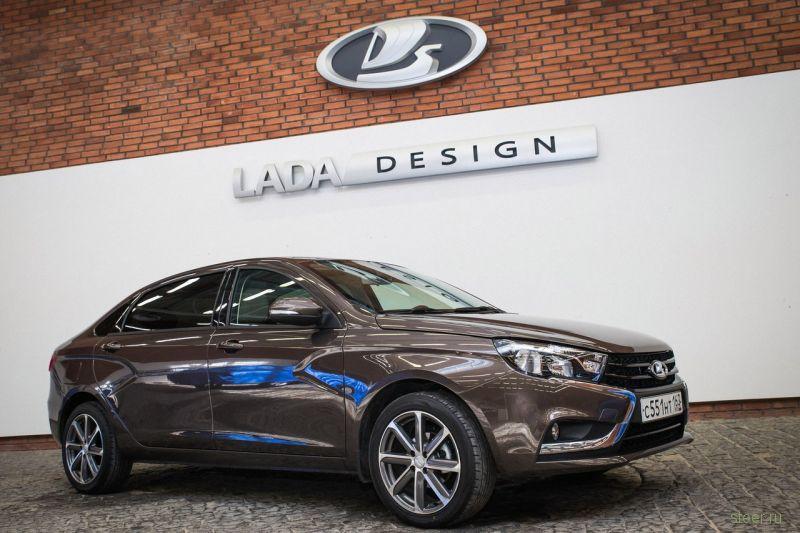 Выпущен второй экземпляр удлиненной Lada Vesta
