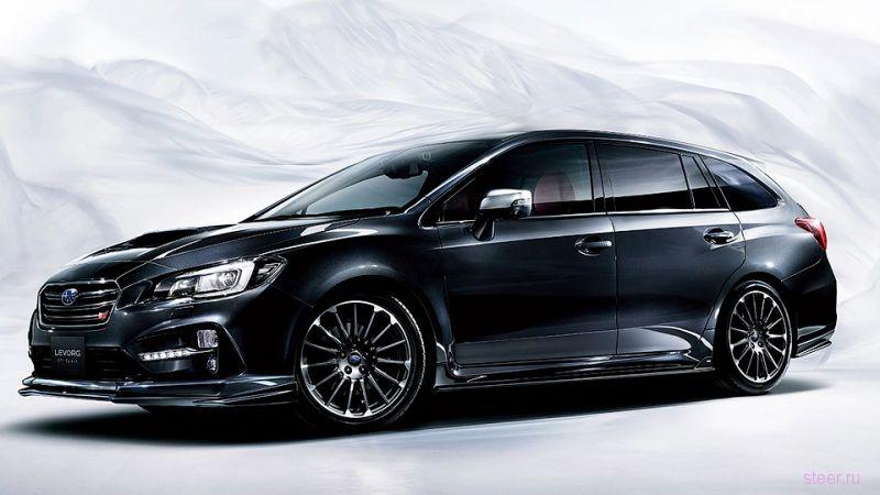 Subaru представила универсал STI