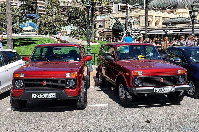 Lada 4x4 показали в Монако на выставке предметов роскоши