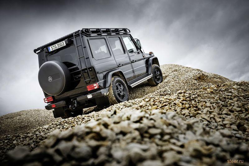 Mercedes возродила выпуск упрощенного варианта G-класса