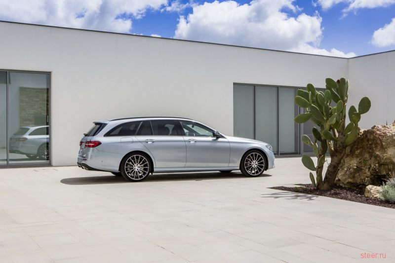 Официально представлен новый универсал Mercedes-Benz  E-Class