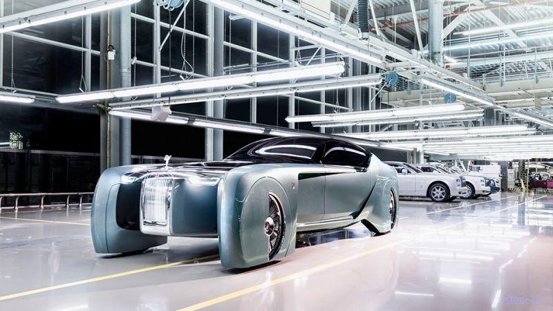Rolls-Royce представила фантастический концепт электрокара Vision Next 100