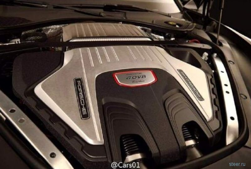 Официальные фото нового Porsche Panamera Turbo