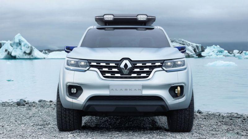 Первые фото серийного пикапа Renault Alaskan