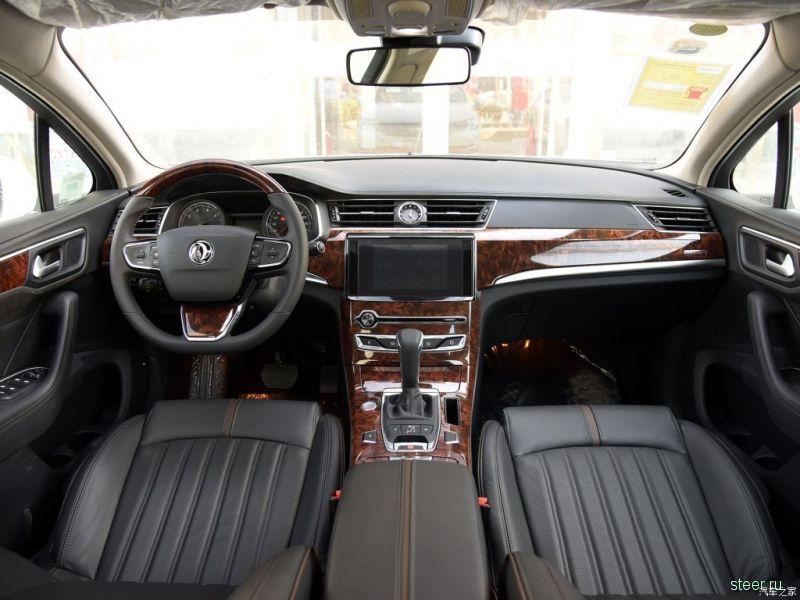 Dongfeng представит в Москве седан бизнес-класса A9