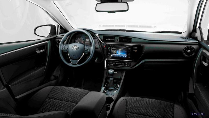 Обновленная Toyota Corolla стала дороже на 56 тысяч рублей