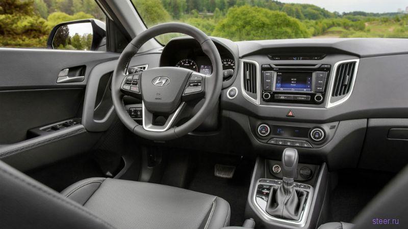 Объявлены российские комплектации кроссовера Hyundai Creta