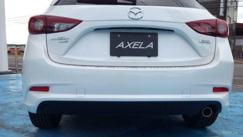 Первые фото обновленной Mazda3
