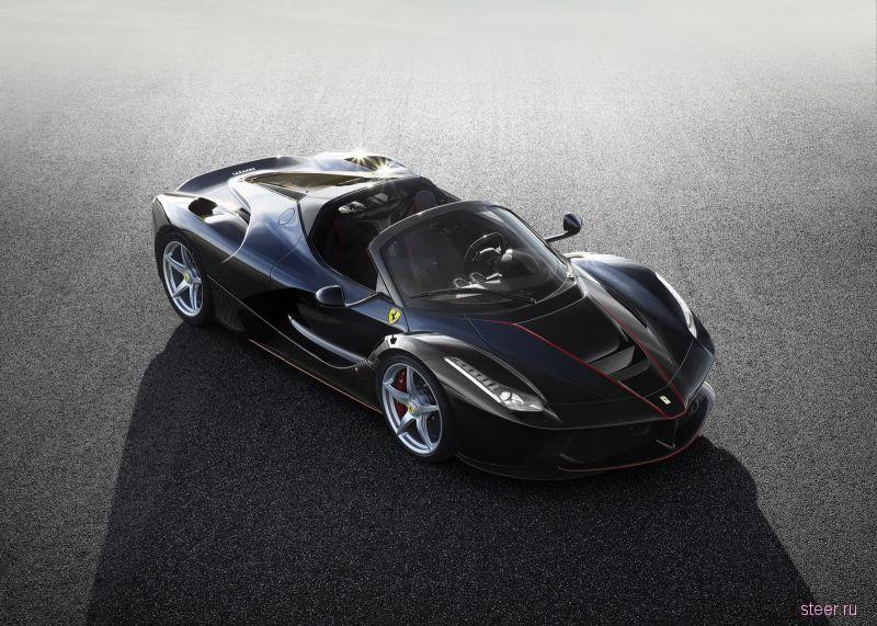 Официальные фото суперкара Ferrari LaFerrari Spider