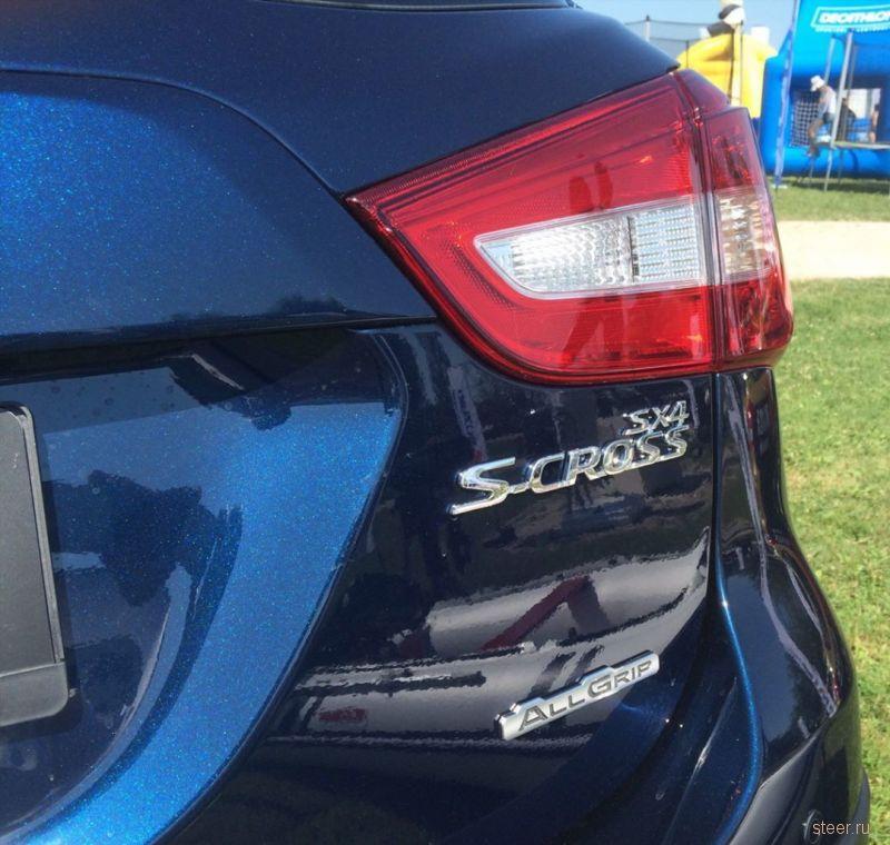 Первые фото обновленного Suzuki SX4/S-Cross