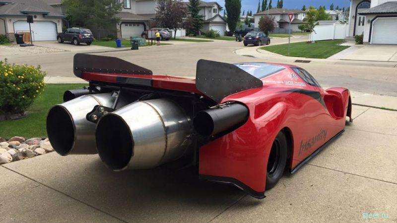 Канадец построил в гараже Ferrari с авиационными двигателями