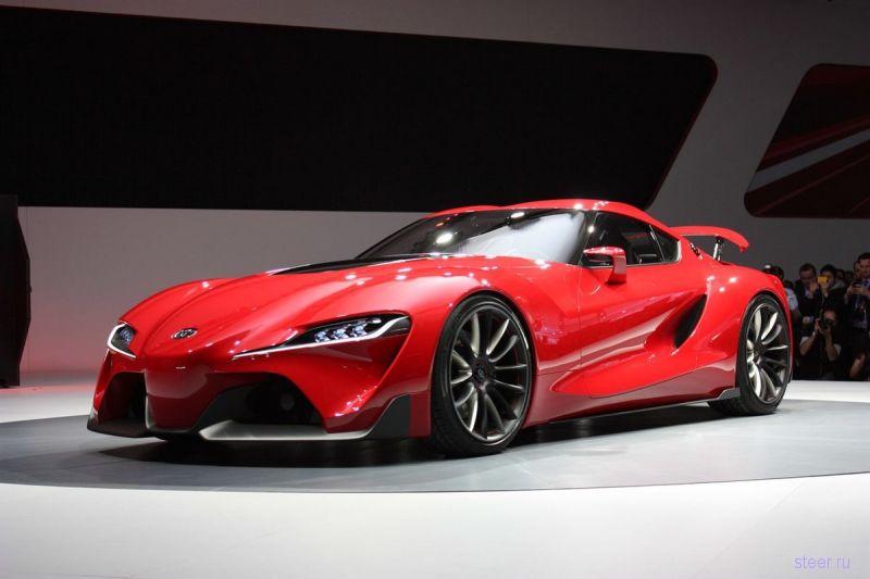 Новая Toyota Supra получит двигатель от BMW