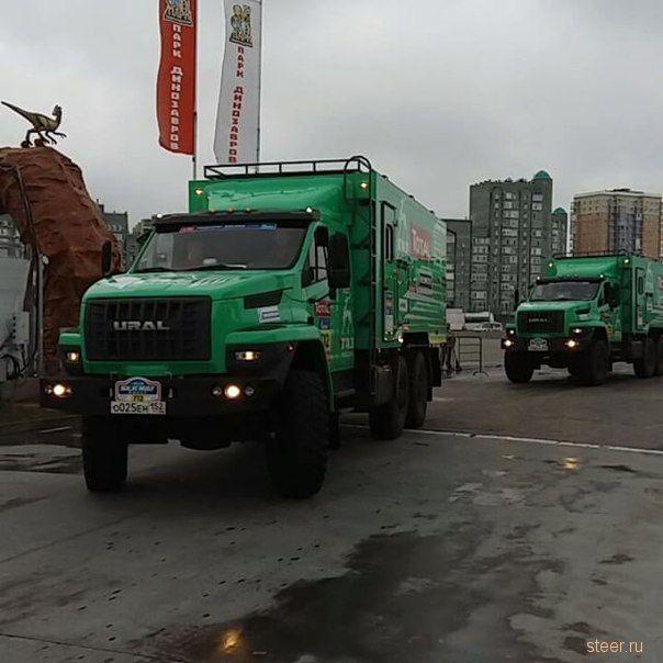 ГАЗ сделал «спортивную» версию «Урала-Next»