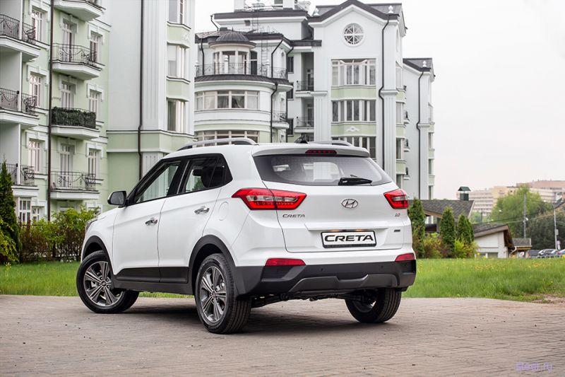 Кроссовер Hyundai Creta : от 800 тысяч рублей