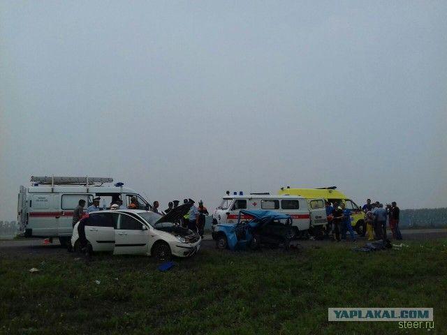 Страшная авария на трассе М7