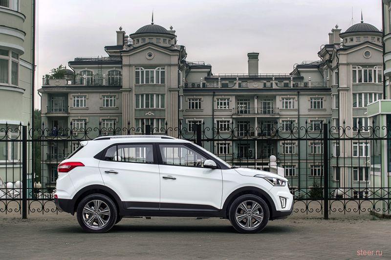 Новый компакт-кроссовер Hyundai Creta : от 749,9 тысячи рублей