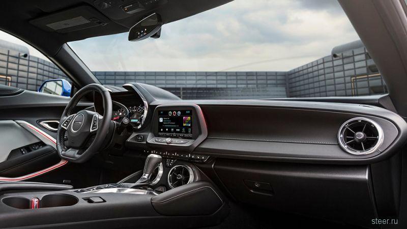 Новый Chevrolet Camaro будет продаваться в России от 2 миллионов 799 тысяч рублей