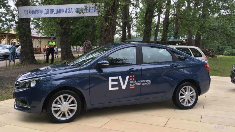 «АвтоВАЗ» представил прототип электрической «Весты»