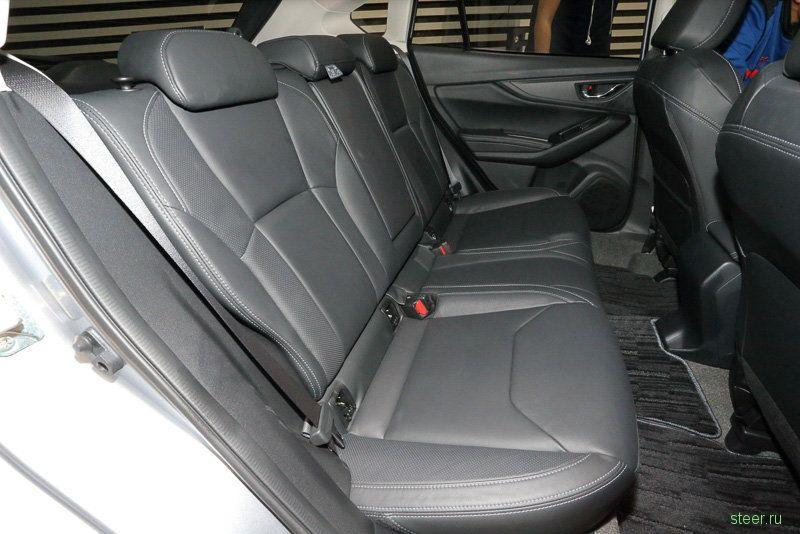 Представлено новое поколение семейства Subaru Impreza