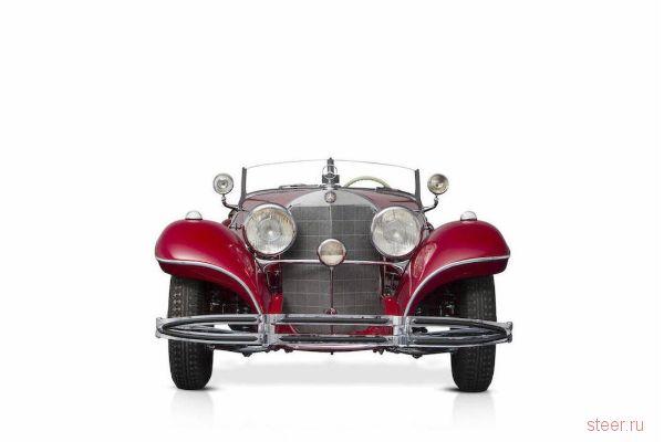 Украденный в 1945 году Mercedes-Benz 500K Special Roadster 1935 продадут за 7 миллионов евро