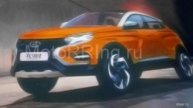 Первое изображение концепт-кара Lada XCODE