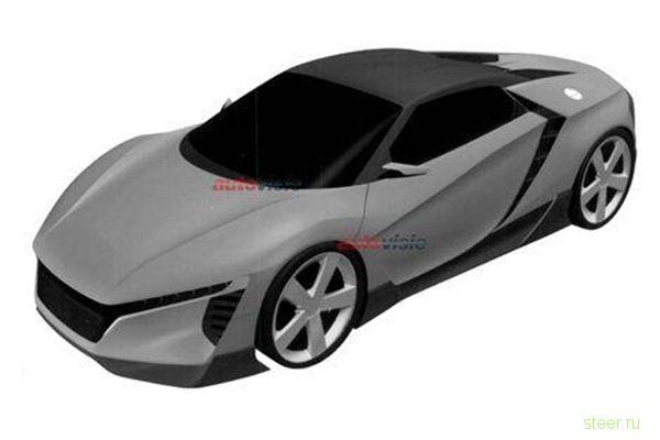 Новый спорткар - Honda ZSX