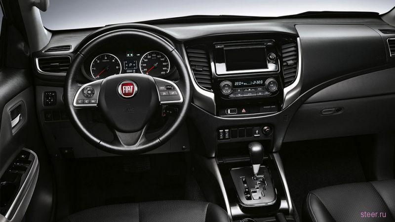 Цены на Fiat Fullback: пикап на базе Mitsubishi L200