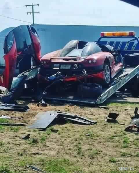 Ужасная авария с суперкаром Koenigsegg CCX в Мексике