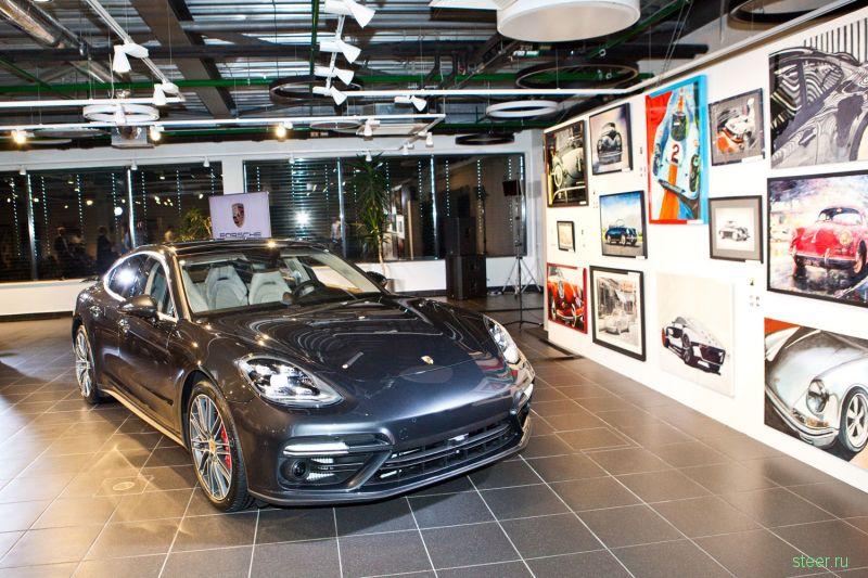 В Москве состоялась закрытая презентация нового Porsche Panamera