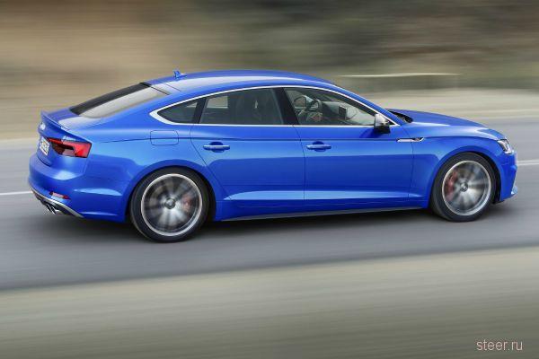 Новое поколение хэтчбеков Audi A5 и S5 представлено официально