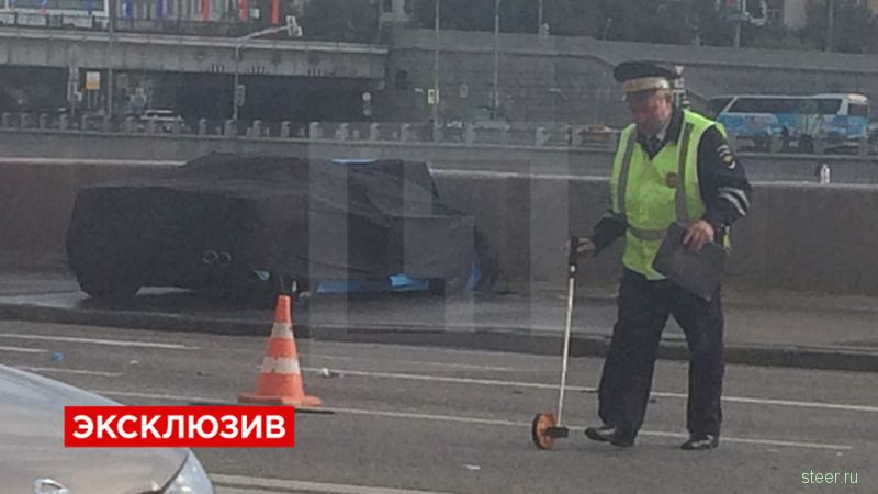 Аварию на Lamborghini в Москве спровоцировал глава компании