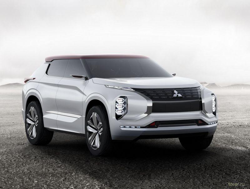 Mitsubishi представила концепт кроссовера Ground Tourer Plug-In Hybrid Vehicle