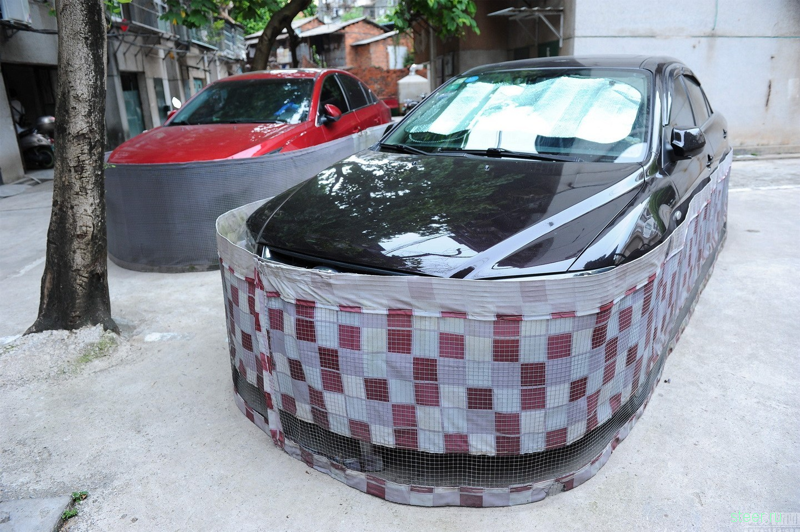 Китайская защита автомобиля от грызунов-вредителей