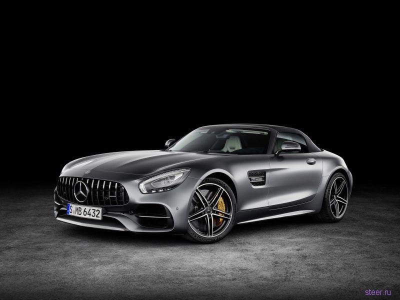 Компания Mercedes-Benz официально представила родстер на базе AMG GT