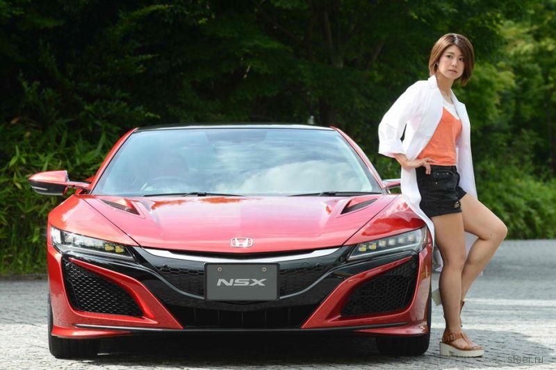 Новуая Honda NSX прошла медосмотр